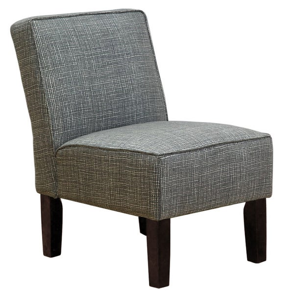 Skyline Furniture Quartz Polyester Wood Polyurethane Armless Accent Chair