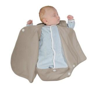 Candide Luxury Brown Cotton Lightweight Baby Wrap