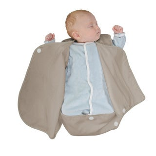 Candide Luxury Brown Cotton Lightweight Baby Wrap