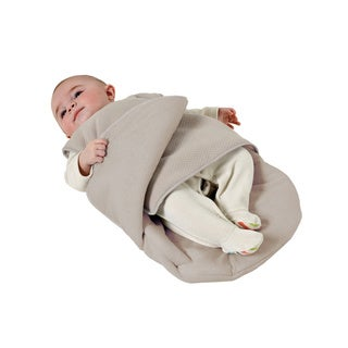 Candide Luxury Hazel Brown Cotton/Polyester Padded Baby Wrap
