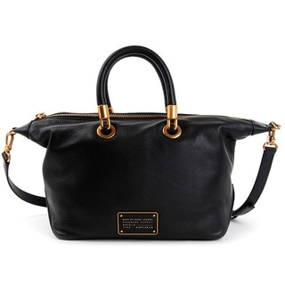 Marc by Marc Jacobs New Too Hot To Handle Black Satchel Handbag