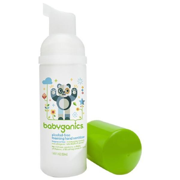 Shop Babyganics 1 7 Ounce Fragrance Free Foam Hand