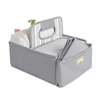Munchkin SaraBear Grey Diapering Organizer