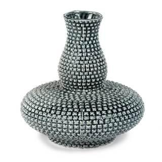 Bina Blue Ceramic Vase