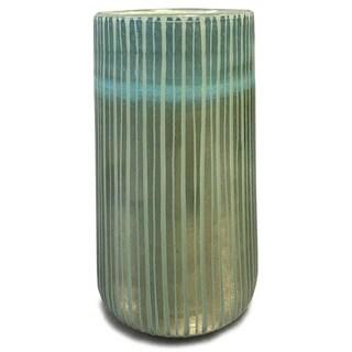 Orla Green Handblown Glass Vase