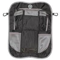 Prince Lionheart Black Plastic Lightweight Durable Back Seat Organizer