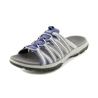 Jambu Women's Mars Blue Textile Basic Sandals