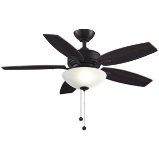 Aire Deluxe 44-inch Ceiling Fan with Light Kit