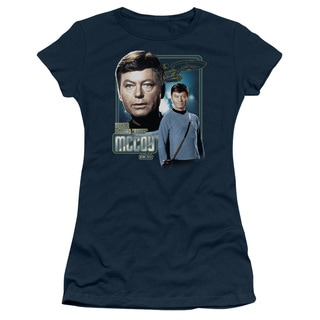 Star Trek/Doctor Mccoy Junior Sheer in Navy
