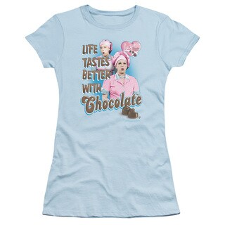 Lucy/Better With Chocolate Junior Sheer in Light Blue