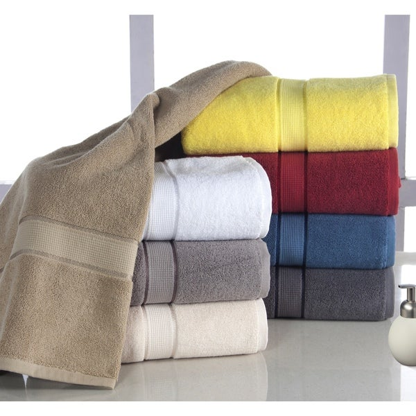 Elegance Spa Luxurious Cotton 600-GSM 6-Piece Towel Set