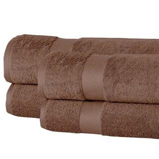 Elegance Spa Oversized Luxurious Cotton 550 GSM Bath Sheets (Set of 4)