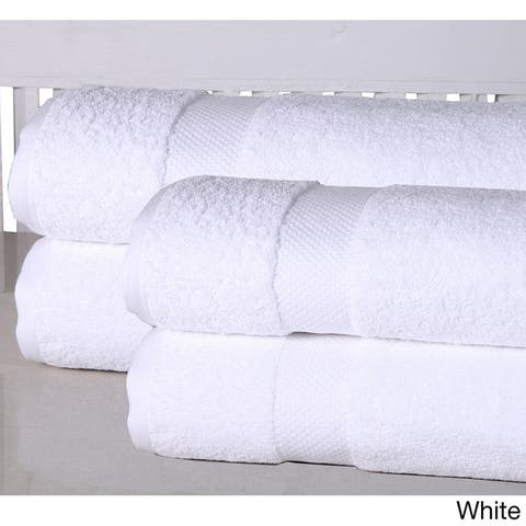 Elegance Spa Oversized Luxurious Cotton 550 GSM Bath Sheets (Set of 4)