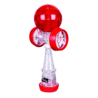 Duncan Clear and Red Chameleo Kendama