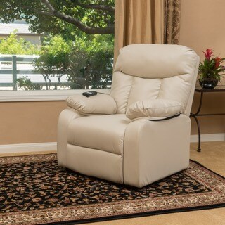 Quade Faux Leather Recliner Lift Club Chair by Christopher Knight Home (2 options available)