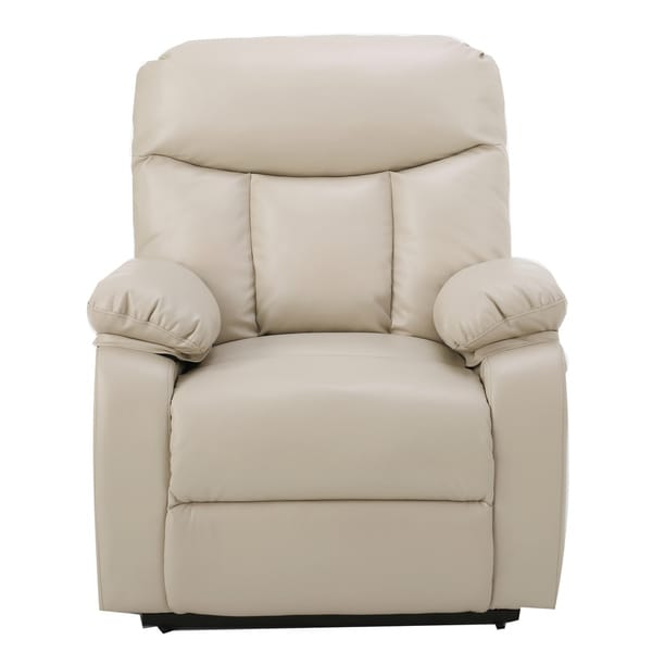 Quade Faux Leather Recliner Lift Club Chair by Christopher Knight Home  sc 1 st  Overstock.com & Quade Faux Leather Recliner Lift Club Chair by Christopher Knight ... islam-shia.org