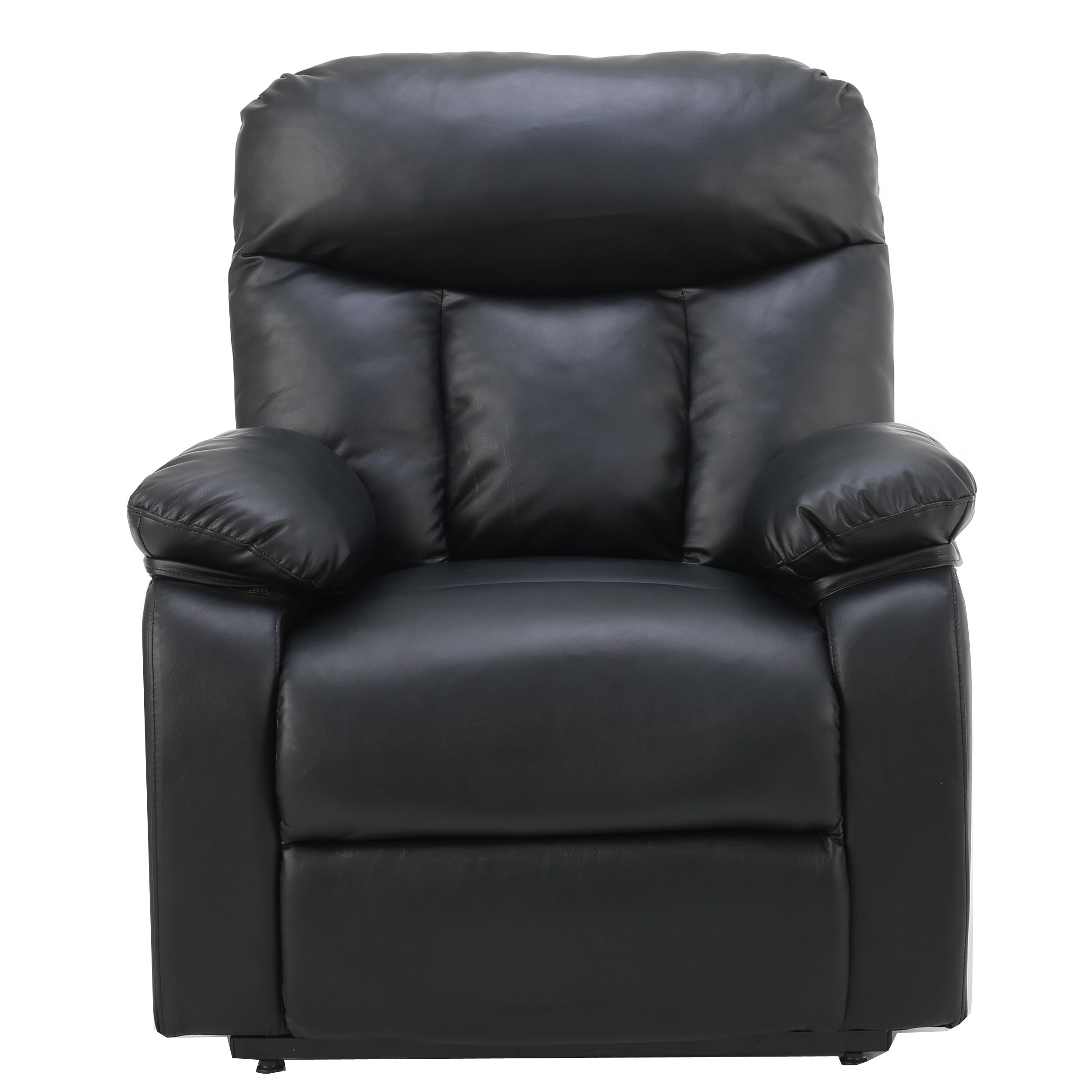 Quade Faux Leather Recliner Lift Club Chair by Christopher Knight