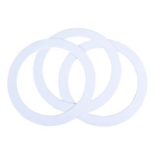 White Juggling Rings with CD Rom