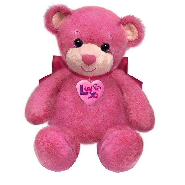 First and Main 10-inch Pink Luv Ya Bears