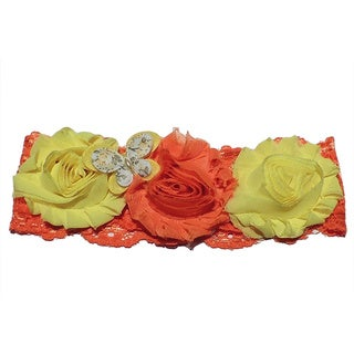 Infant Toddler Girl's Shabby Chic Headband