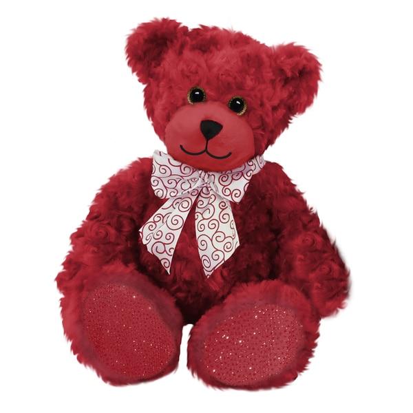 First and Main 10-inch Rosebud Bear