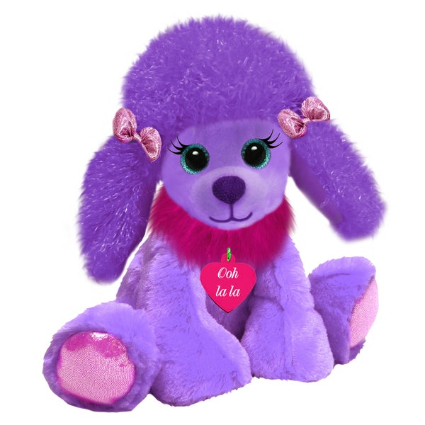 First and Main 10-inch Valentine Gal Pals Plush Poodle