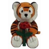 First and Main 5-inch Snuggles Plush Tiger