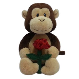 First and Main 5-inch Snuggles Plush Monkey|https://ak1.ostkcdn.com/images/products/11975573/P18857889.jpg?impolicy=medium