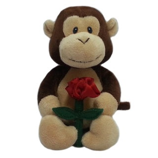 First and Main 5-inch Snuggles Plush Monkey