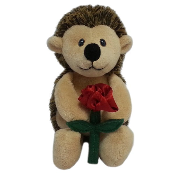 First and Main 5-inch Snuggles Plush Hedgehog