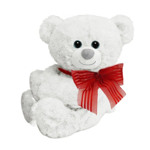 First and Main 5-inch White Huggles Huggum Plush