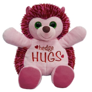 First and Main 10-inch Hug-A-Luvs Plush Hedgehog