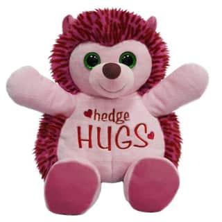 First and Main 10-inch Hug-A-Luvs Plush Hedgehog|https://ak1.ostkcdn.com/images/products/11975581/P18857919.jpg?impolicy=medium