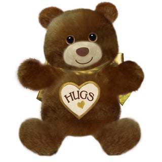 First and Main 15-inch Brown Hugsie Bear