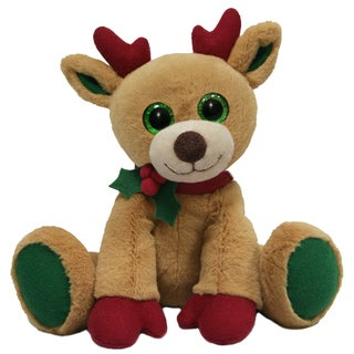 First and Main 7-inch Little Dickens Plush Reindeer