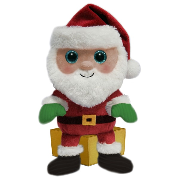 First and Main 7-inch Santa Buddies Plush Santa
