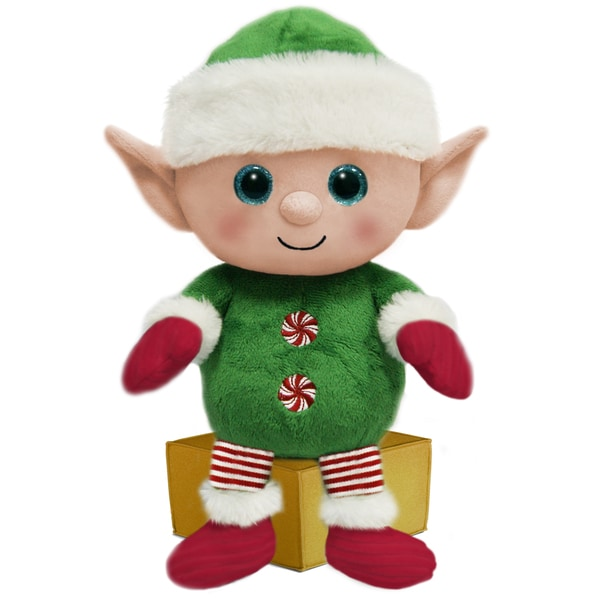 First and Main 7-inch Santa Buddies Plush Elf
