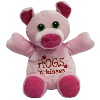 First and Main 10-inch Hug-A-Luvs Plush Pig