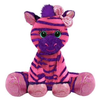 First and Main 7-inch Gal Pals Plush Zuri Zebra