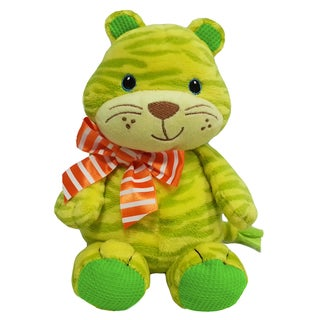 First and Main 7-inch Baby Bright Tiger Plush