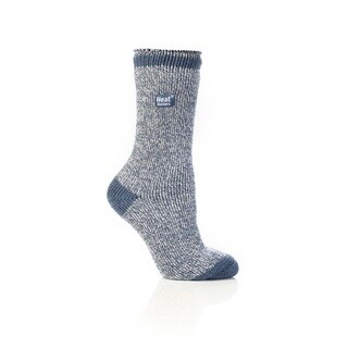 Grabber Heat Holders Ladies' Polyester Twist Crew Sock