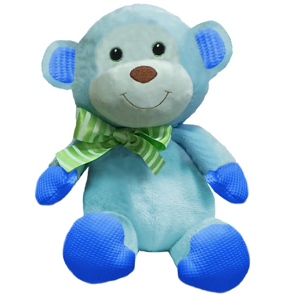 First and Main 7 Inch Baby Bright Monkey Plush