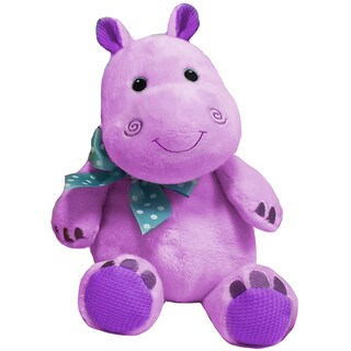 First and Main 7-inch Baby Bright Hippo Plush
