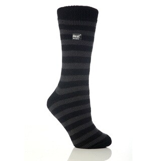 Grabber Heat Holders Ladies Striped Crew Sock (4 options available)