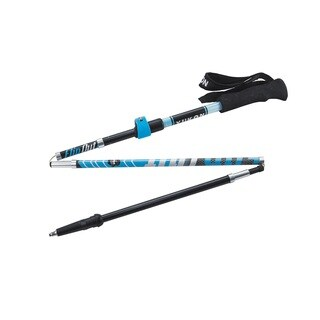 YC FlipOut Carbon Blue/Grey Trekking Pole