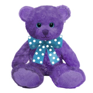 First and Main 10-inch Purple Sorbet Bear