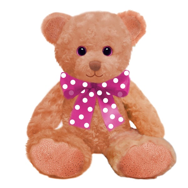 First and Main 10-inch Peach Sorbet Bear