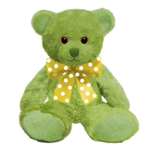 First and Main 10-inch Lime Sorbet Bear