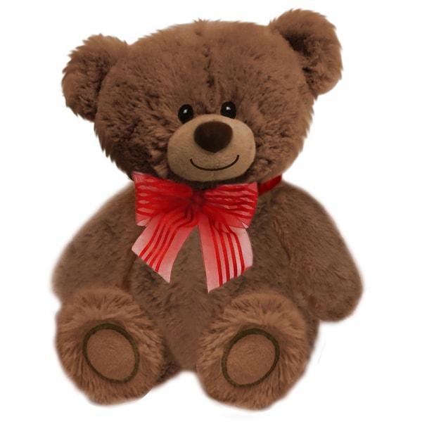 8-inch Brown Huggles Bear