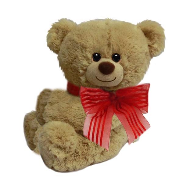 5-inch Tan Huggles Huggum Bear